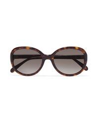 Givenchy Round Frame Tortoiseshell Acetate Sunglasses