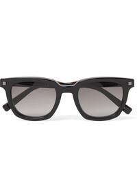 Ermenegildo Zegna Square Frame Acetate Sunglasses