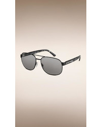 Burberry Square Frame Aviator Polarised Sunglasses