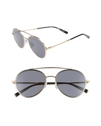 Max Mara Wire Ii 54mm Aviator Sunglasses