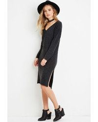 Forever 21 Brushed Knit Sweater Dress