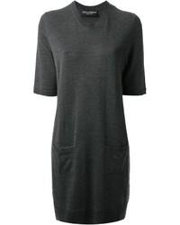 Dolce & Gabbana Short Sleeve Sweater Dress