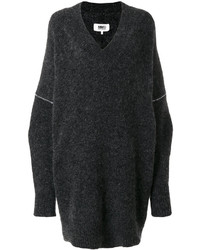 MM6 MAISON MARGIELA V Neck Sweater Dress
