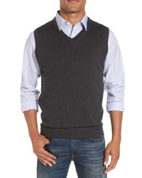 Charcoal Sweater Vest