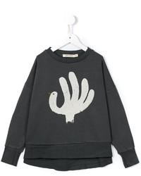 Bobo Choses Turkey Hand Sweatshirt