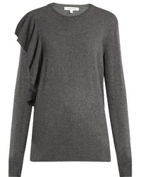 Elizabeth and James Orly Ruffle Trimmed Sweater