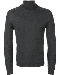 Tagliatore Patterned Knit Sweater