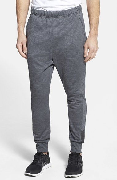 3f2222107712 ... adidas Beyond The Run Slim Fit Climalite French Terry Jogger Pants ...
