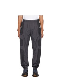 Nike Black And Grey Nsw Re Issue Track Pants