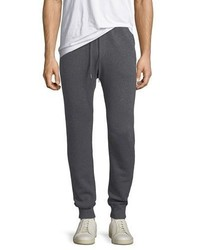 Neiman Marcus Cashmere Cotton Knit Jogger Pants