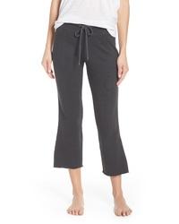 David Lerner Crop Flare Lounge Pants
