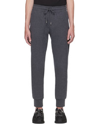 Dolce & Gabbana Grey Bee Crown Lounge Pants