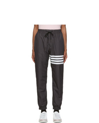 Thom Browne Grey Flyweight Tech 4 Bar Track Lounge Pants