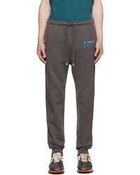 Lanvin Grey Logo Lounge Pants