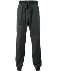 Haider Ackermann Grey Perth Panelled Track Pants