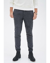 Forever 21 Slim Fit Paneled Joggers