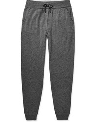 Ermenegildo Zegna Tapered Cashmere And Silk Blend Sweatpants