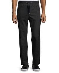 Dolce & Gabbana Wool Cotton Jogger Pants