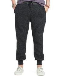 Denim & Supply Ralph Lauren Wool Tweed Jogger Pants