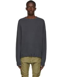 R13 Black Vintage Sweatshirt