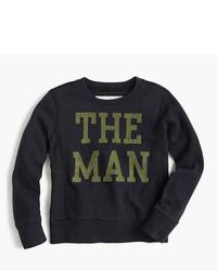 J.Crew Boys The Man Sweatshirt