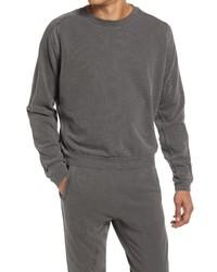 John Elliott Cross Thermal Cotton Crewneck Sweatshirt