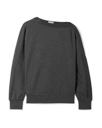 Brunello Cucinelli Embellished Cotton Blend Jersey Sweatshirt