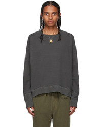 Bed J.W. Ford Grey French Terry Sweatshirt