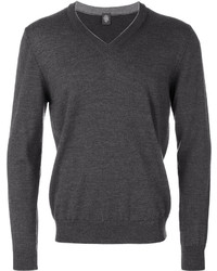 Eleventy V Neck Jumper