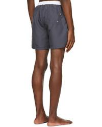 BOSS Grey Starfish Swim Shorts