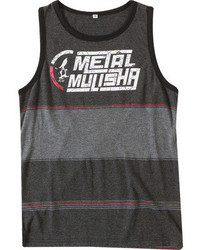 Metal Mulisha Boys Drift Charcoal Cotton Shirts