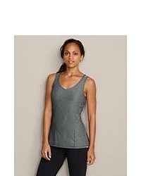 Eddie Bauer Infinity V Neck Tank Charcoal M Regular