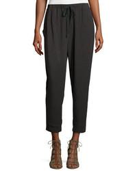 Drawstring slouchy jersey pants medium 1158218