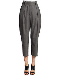 L'Agence Cropped Tapered Pants