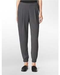 Calvin Klein Lightweight Pull On Tapered Pants