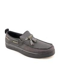 Charcoal tassel loafers original 2574015