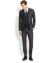 Burberry London Sterling Woolmohair Three Piece Suit