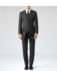 Reiss Malcolm Three Piece Wool Suit