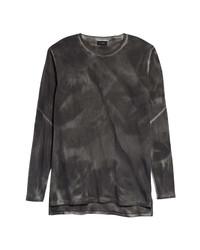 Zanerobe Marble Flintlock Tie Dye Long Sleeve T Shirt