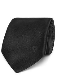 Alexander McQueen 7cm Metallic Silk Blend Jacquard Tie