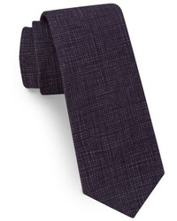 Ted Baker London Solid Skinny Cotton Tie