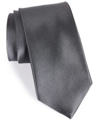 Shop solid satin silk tie medium 782414