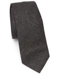 Brunello Cucinelli Solid Flannel Tie