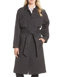 Cotton blend utility trench coat medium 8649507