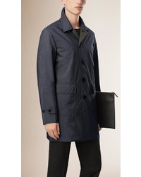Burberry Reversible Wool Cashmere Car Coat