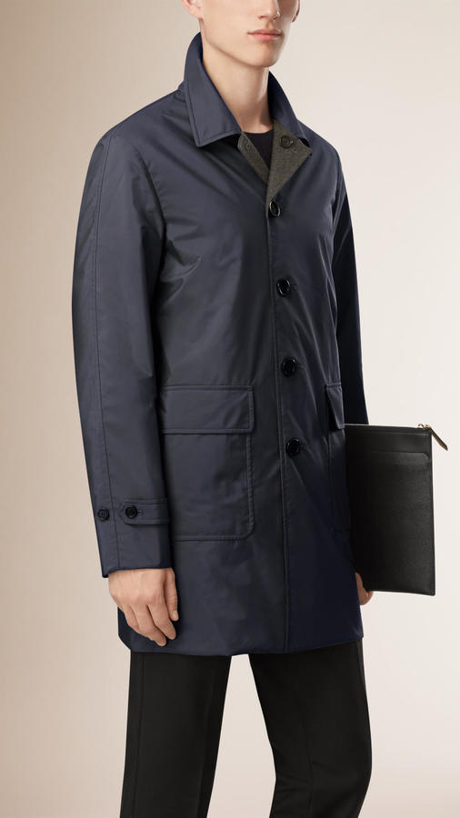 Burberry Reversible Wool Cashmere Car Coat | Where to buy & how to ...