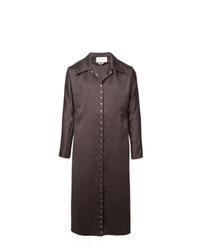 Ludovic De Saint Sernin Snap Button Trench Coat