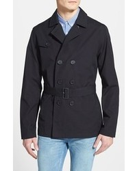 Topman Cropped Trench Coat