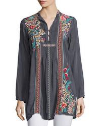 Sheela embroidered long tunic medium 3749971