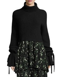 A.L.C. Emille Long Sleeve Turtleneck Sweater